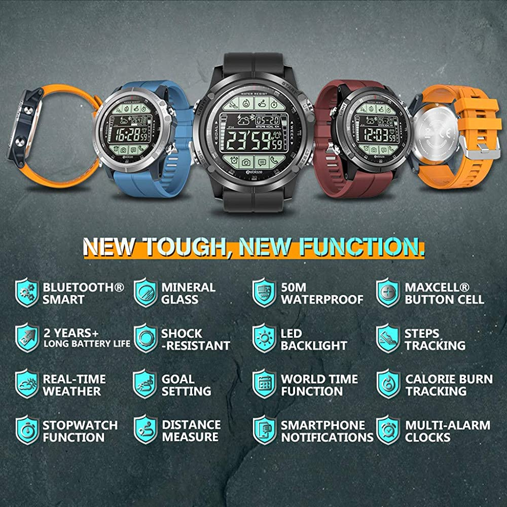 2019 Nuevo Smartwatch Fitness Activity Tracker Smartwatch con ...