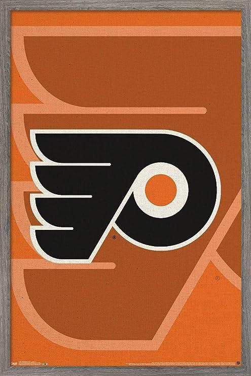 Amazon.com: Trends International NHL Philadelphia Flyers - Logo