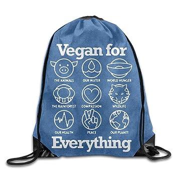 Dutch Vegan For Everything Cool - Mochila con cordón