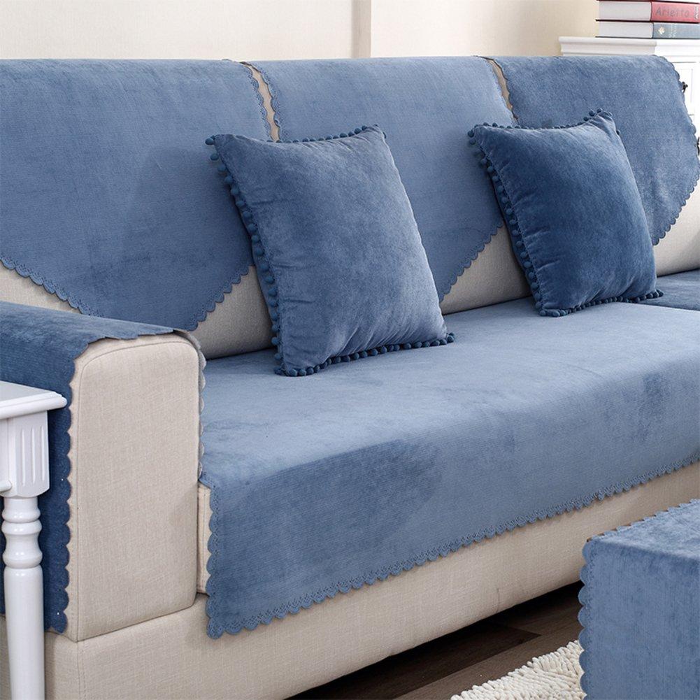 HM&DX Funda de sofá Impermeable para Mascotas Perro seccional sofá Antideslizante Resistente al Agua Antimanchas sofá Funda Muebles Protector para Cubrir el ...