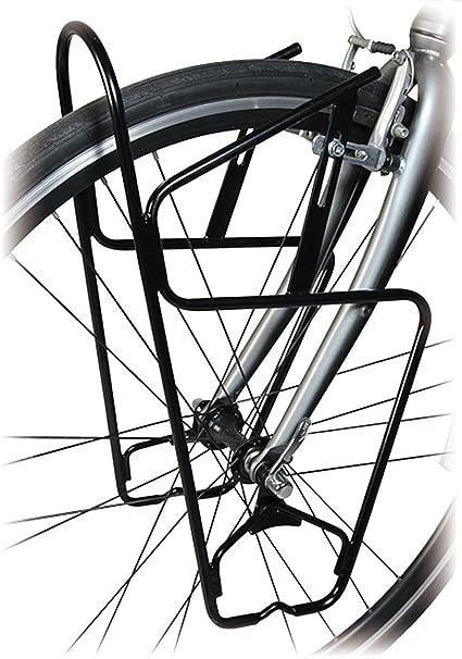 Minoura FPR-3000 Front Bicycle Pannier Rack //// 700c //// Black