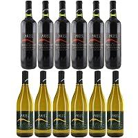 Ariel Non-alcoholic Wine Cabernet Sauvignon + White Chardonnay   Total 12 Bottles