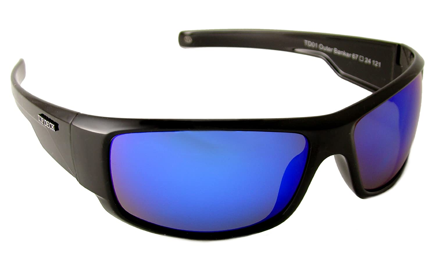 ba84afc62c2 Amazon.com  Top Deck Outer Banker Polarized Sunglasses