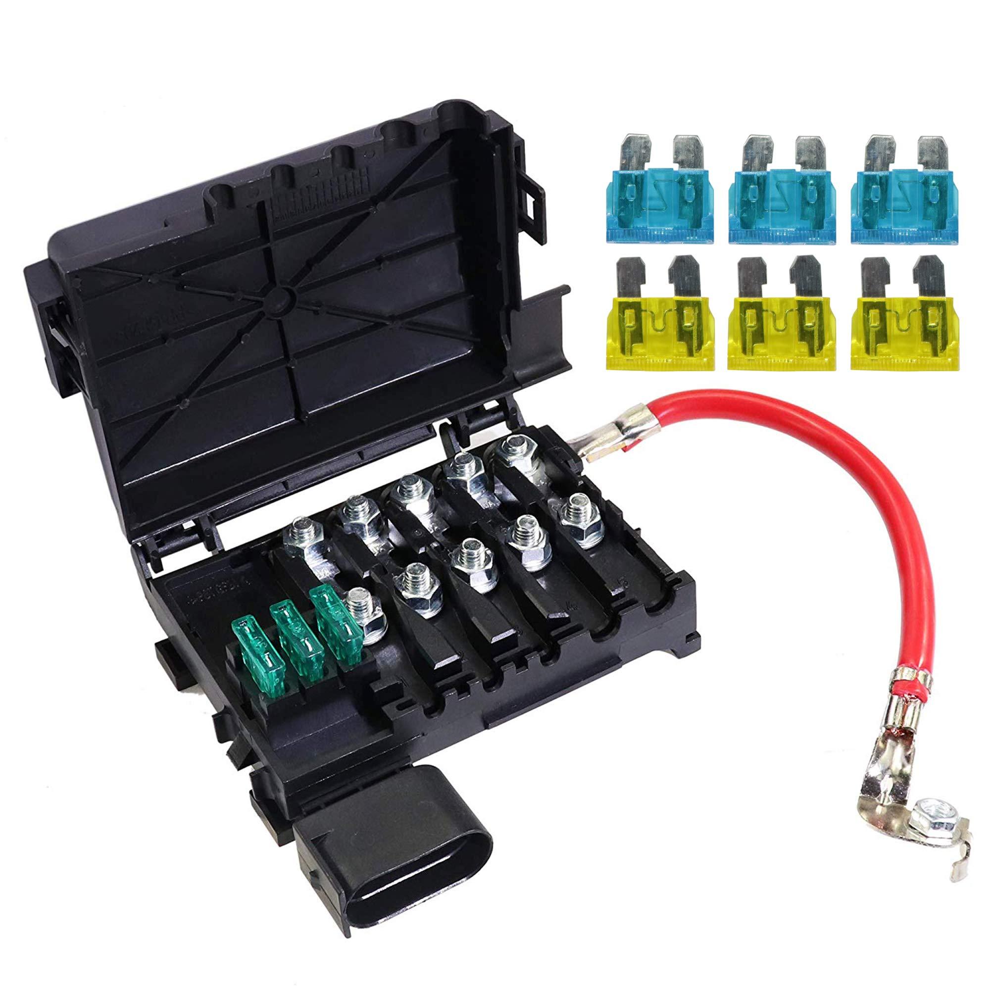 jetta battery fuse box fuse box battery terminal for 1999 2004 vw jetta golf mk4  1999 2004 vw jetta golf mk4