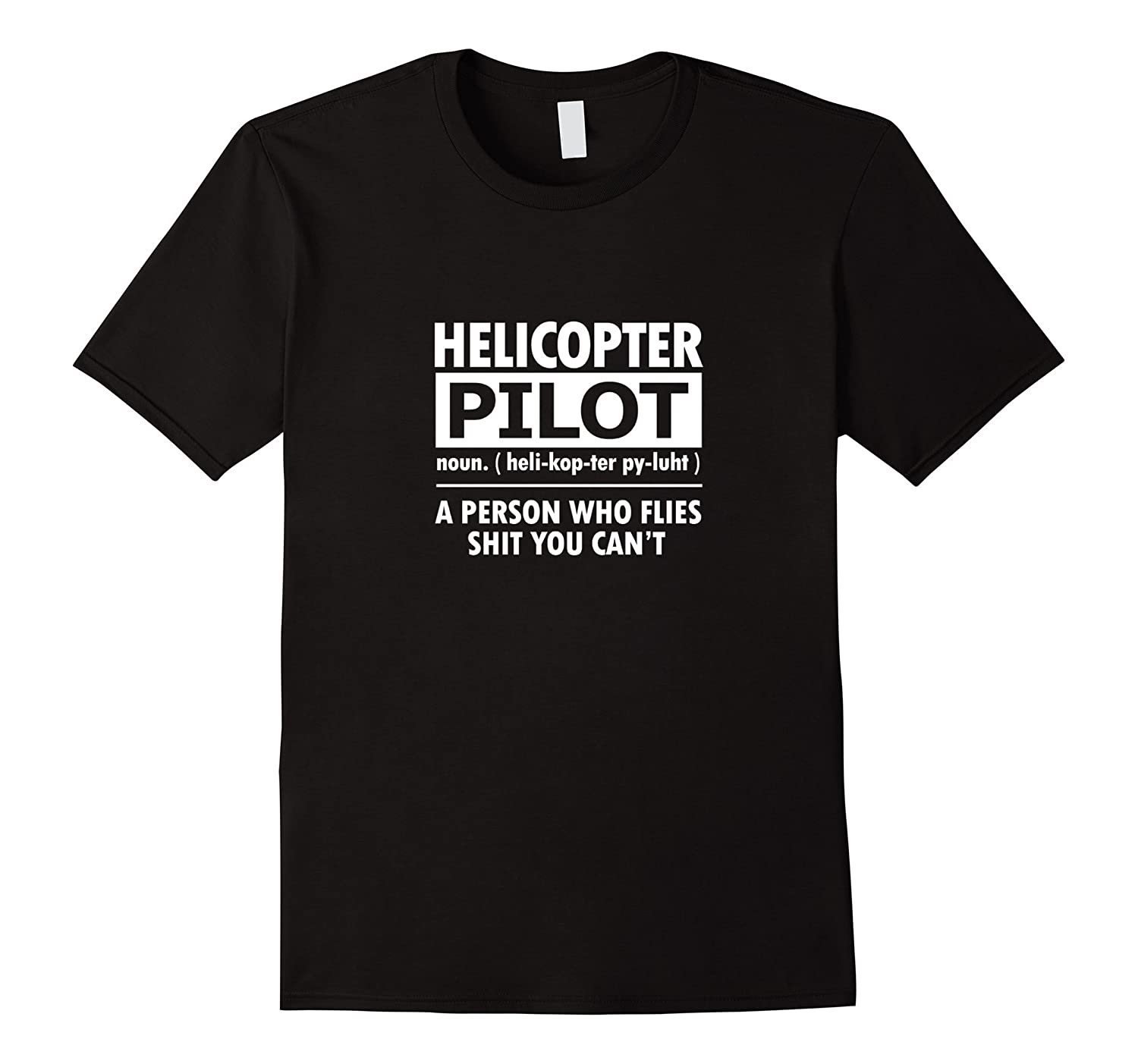 Funny Rotary Wing T-Shirt Definition Helicopter Pilot Shirt