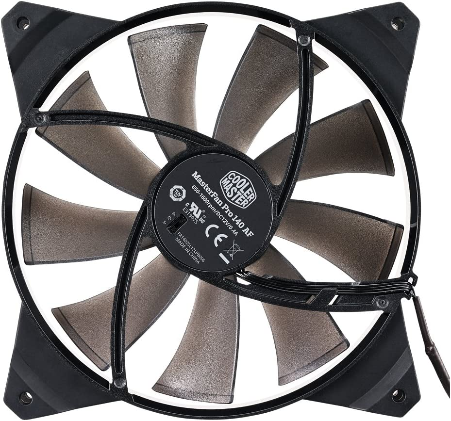 140mm High Air Flow Black Case Fan Cooler Master MasterFan Pro 140 Air Flow Computer Cases CPU Coolers and Radiators