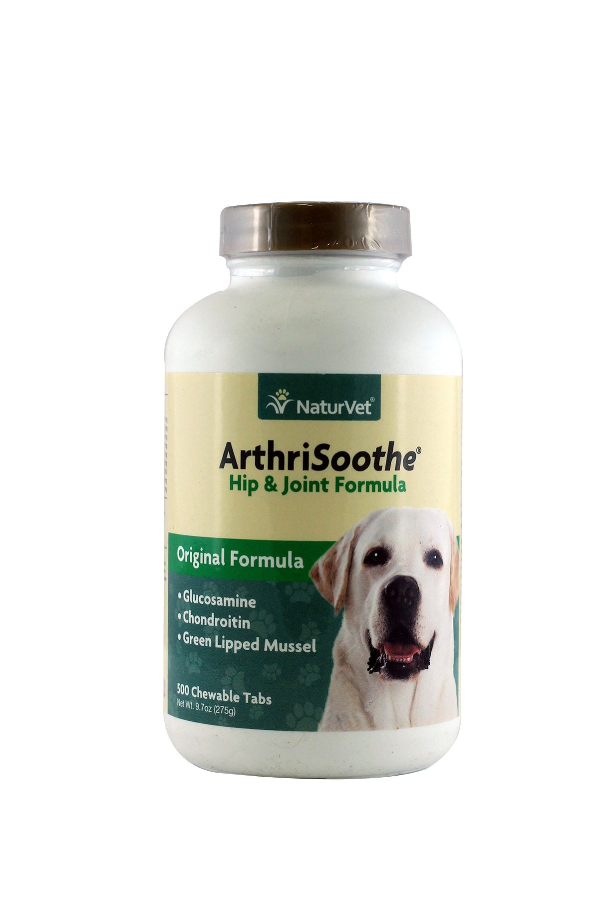 NaturVet 500 Count ArthriSoothe Tablets for Pets