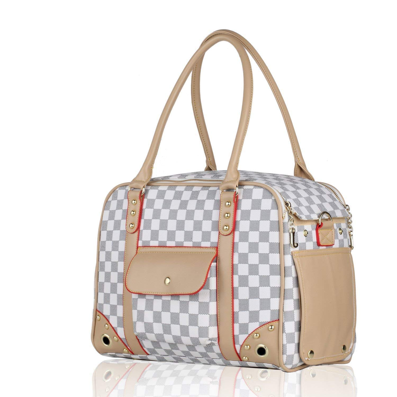 BELLAMORE GIFT Pet Carrier Bag Pomeranian Pug Chihuahua Puppy Cat Yorkie Discreet Tote BELLAMORE GIFT LIMITED