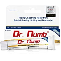 Dr. Numb 5% Lidocaine Topical Anesthetic Numbing Cream for Pain Relief, Maximum...