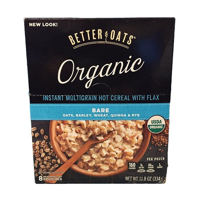 Better Oats Harina de avena orgánica de grano múltiple con ...