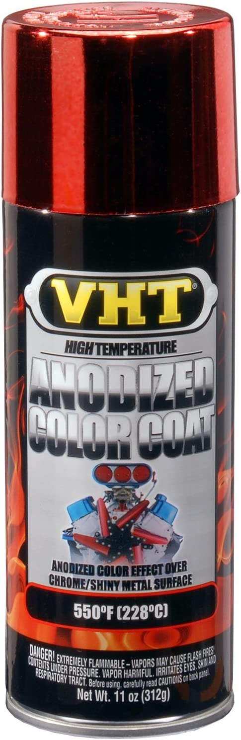 VHT SP450 Anodized Red Color Coat Can - 11 oz.