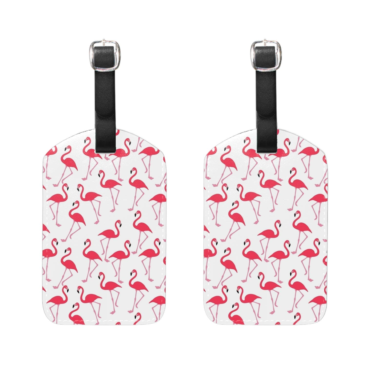 Roses Floral Print Luggage Tags /& Bag Tags 2 pieces Set