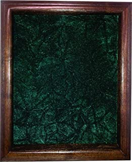 product image for flag connections Single or Double Medal Awards Display Case (Green Velvet)