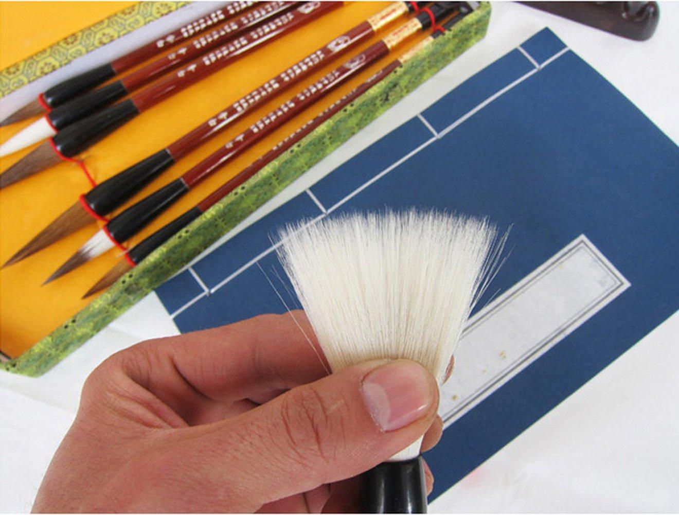 Set pennelli per calligrafia cinese pennelli kanji confezione regalo 7/pezzi