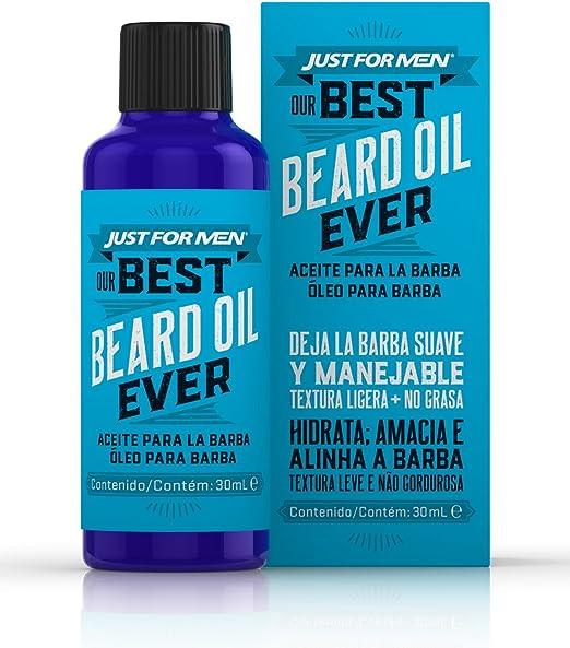 Just for Men Aceite para la Barba – Aceite para el cuidado diario de la Barba