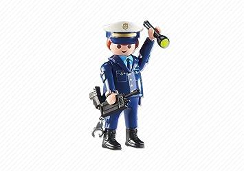 PLAYMOBIL JEFE DE POLICIA, REF 6502, EN BOLSA PRECINTADA DEL FABRICANTE