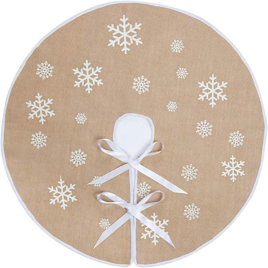 Gonna per Albero di Natale in Iuta 36 Inches Iuta 91,4 cm. N/&T NIETING