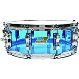 ラディック スネアドラム 【ヴィスタライト】 アクリルシェル 5×14インチ カラー:ブルー