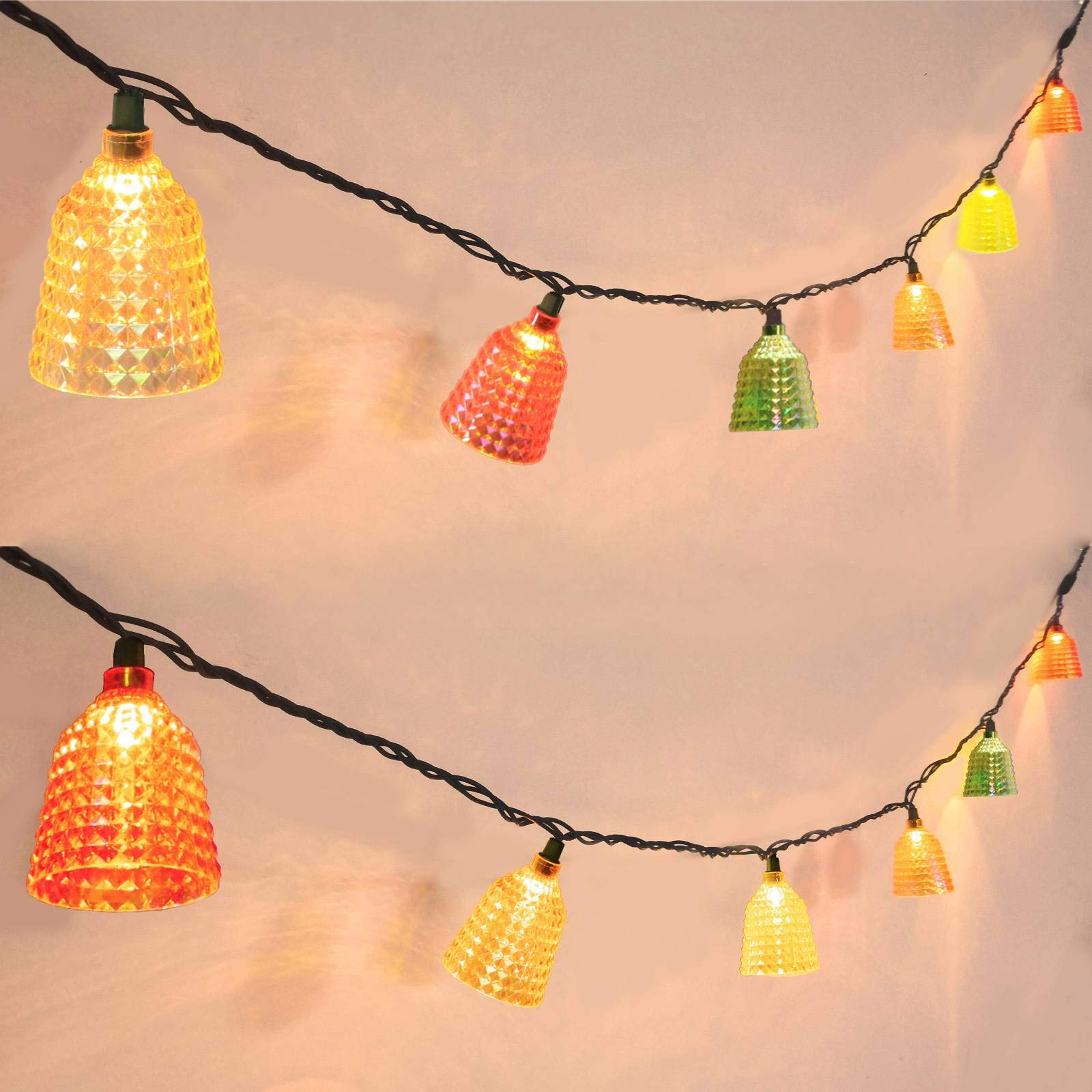 Afirst Decorative String Lights – Multi-Color Lights String Connectable Waterproof Outdoor String
