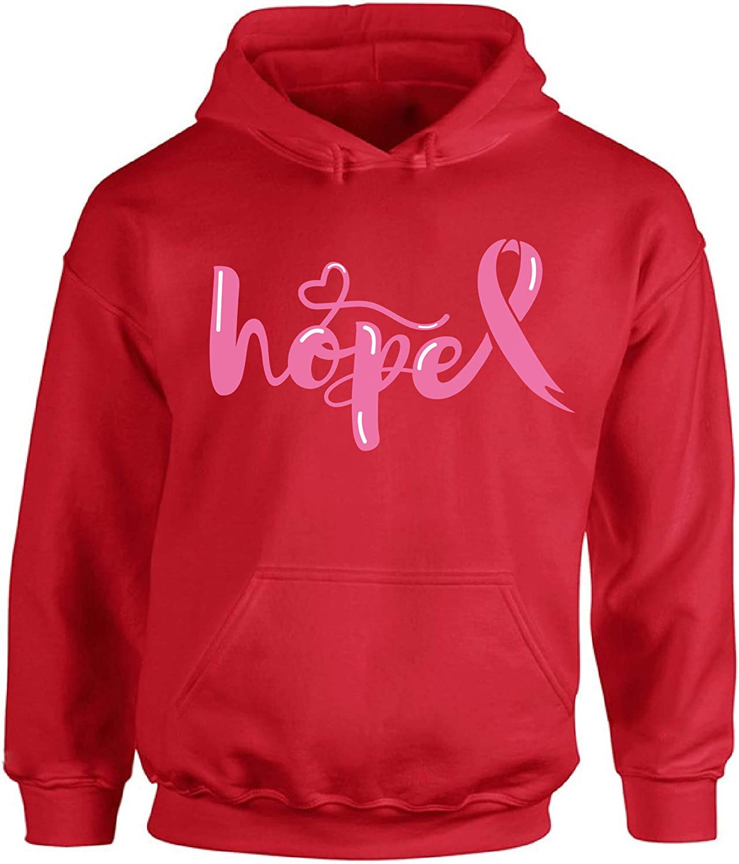 Awkward Styles Breast Cancer Awareness Sweater Hope Pink Ribbon Unisex Hoodies 1