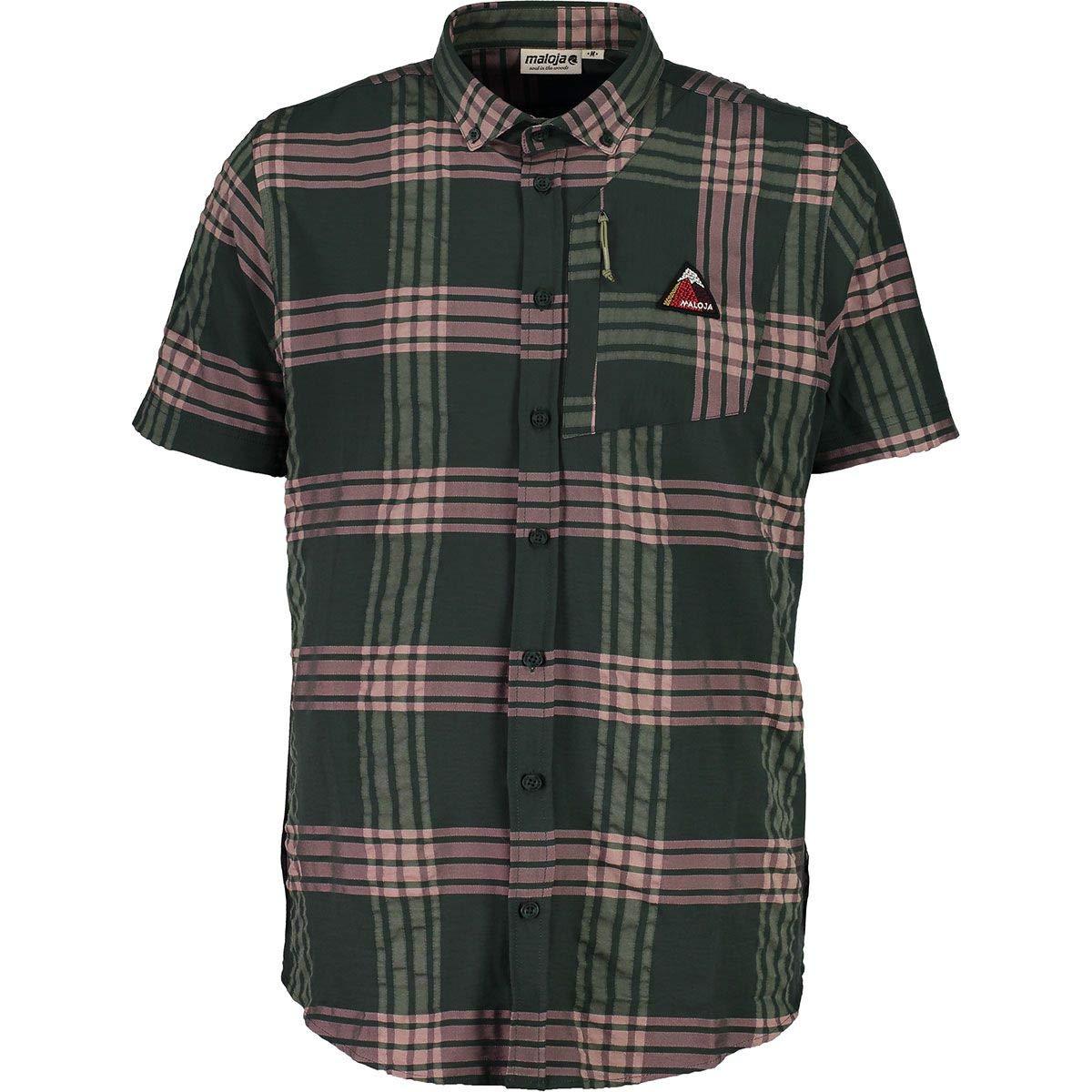 Vert pin XL Maloja falzm 1 2 t-Shirt, Homme