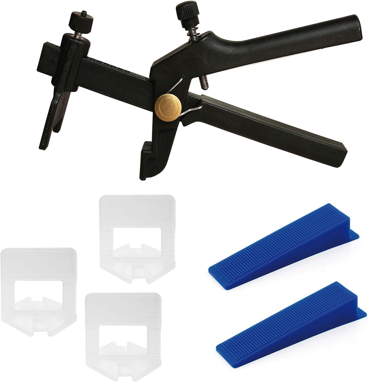 Zuglaschen Fliesen 500Stück 1-2 MM Fuge Verlegehilfe Nivelliersystem Laschen Set