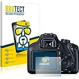 BROTECT Pellicola Vetro Compatibile con Canon EOS 4000D - Vetro Prottetivo, Flessibile 9H, AirGlass