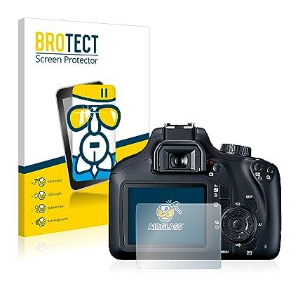 BROTECT Protector Pantalla Cristal Compatible con Canon EOS 4000D ...