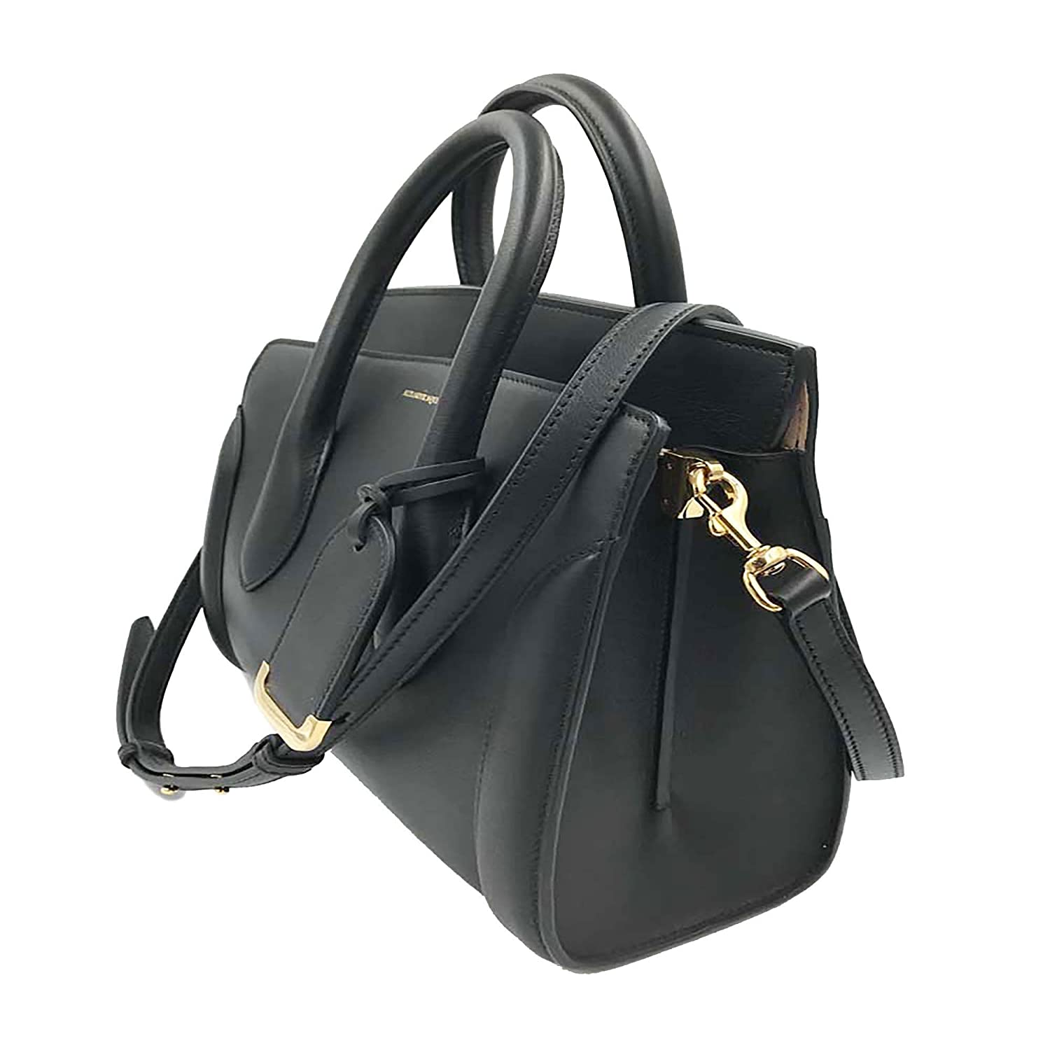 a885a37524c2 Alexander McQueen Heroine 30 Medium Leather Shoulder Bag 508859DX50M at  Amazon Women's Clothing store: