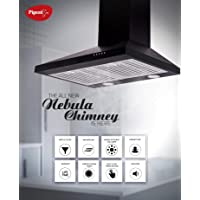 PIGEON ALL NEW NEBULA -60 cm -860 m3h Baffle Filter Chimney with LED Lamps