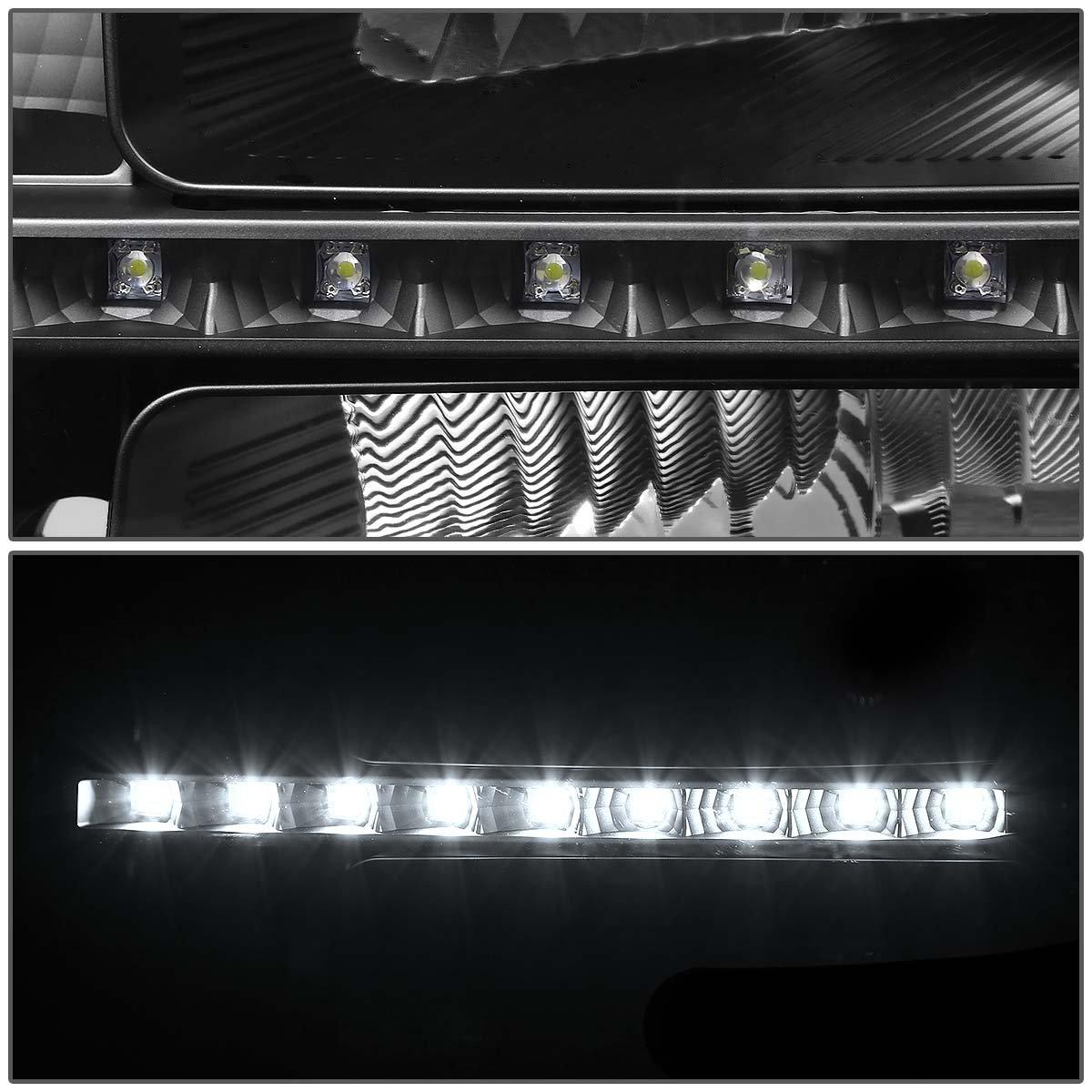 HL-LED-GMCSIE07-BK-AM DNA Motoring HLLEDGMCSIE07BKAM LED Headlight Driver /& Passenger Side