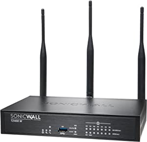 Dell Sonicwall 01-SSC-0516 TZ400 Wireless-AC Security Appliance 7 Ports 10MB/100MB LAN, Gige 802.11 B/A/G/n/AC