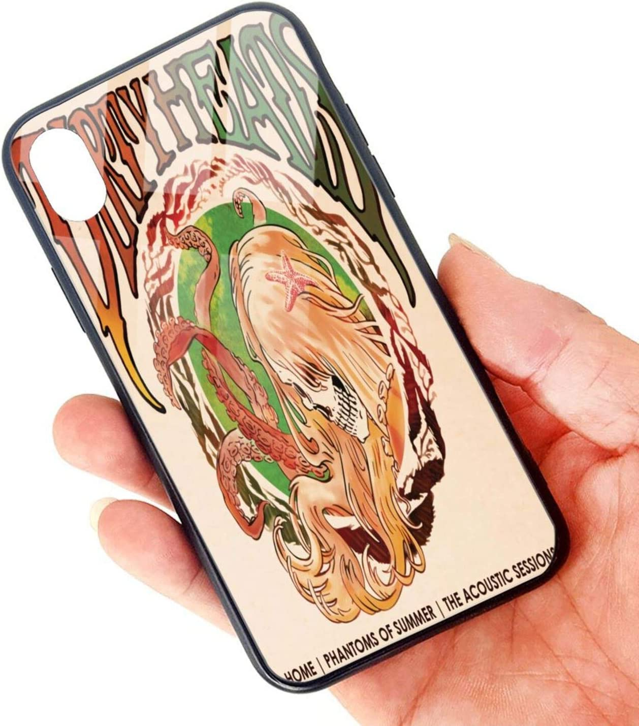 Zhoucous Dirty Heads Home Phantoms of Summer iPhone XR TPU Glass Phone Case Fashion Phone Cases One Size
