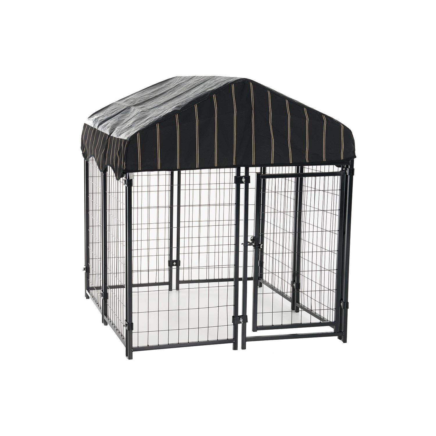 Lucky Dog Pet Resort Kennel with Cover (52''H x 4'W x 4'L) by Lucky Dog