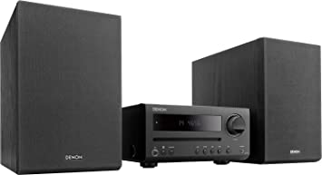 Denon D-T1 - Microcadena con Lector CD y Bluetooth, Color Negro ...