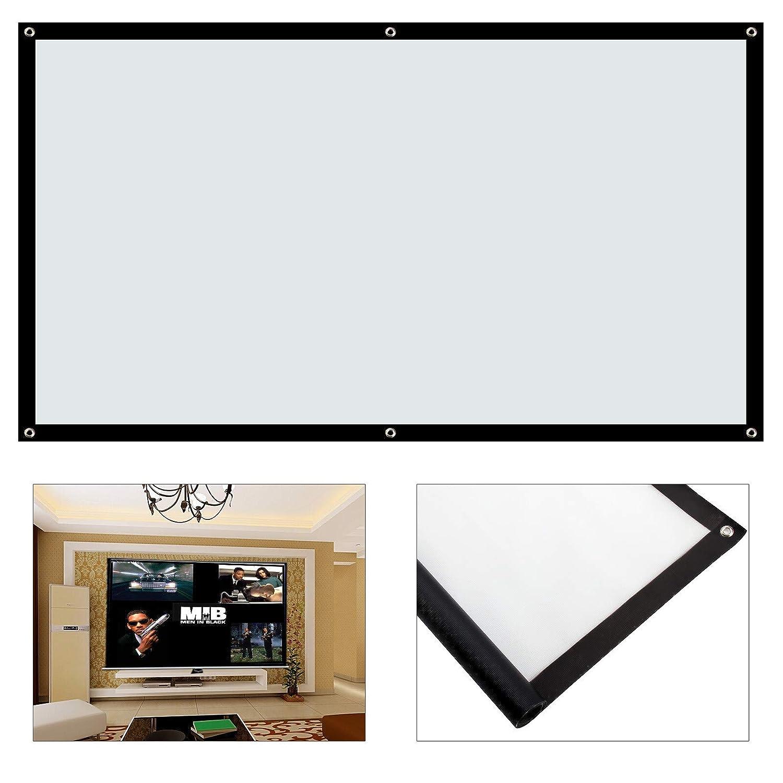MultiWare Projector Screen 100 Inch 16:9 Cinema Projector Screen OEM