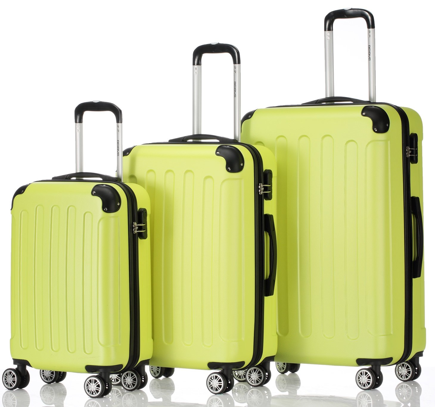 Zwilling ruedas conjunto de equipaje de viaje piezas Juego de equipaje maleta