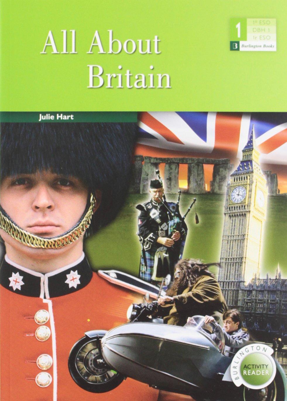 All About Britain ESO 1 Tapa blanda – 2011 Julie Hart BURLINGTON 9963485480 Lernhilfen / Abiturwissen