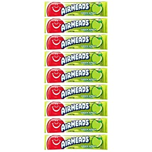 Airheads Green Apple, 0.55-Ounce Packages (Pack of 144)