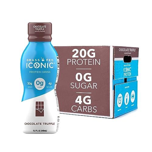 Iconic Protein Drinks, Chocolate Truffle