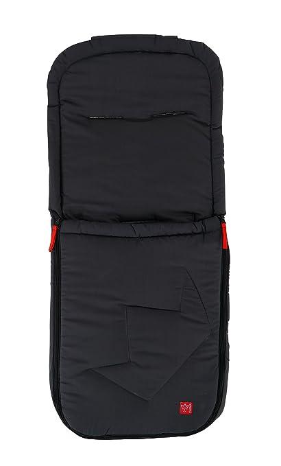 Kaiser 65727-24 Ammy - Saco de abrigo de verano para cochecito de bebé, color gris oscuro