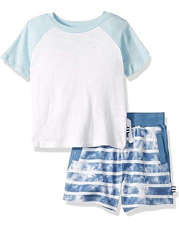 1beaf524 Splendid Boys' Kids and Baby Short Sleeve Tee Shirt and Bottom 2 Piece Set