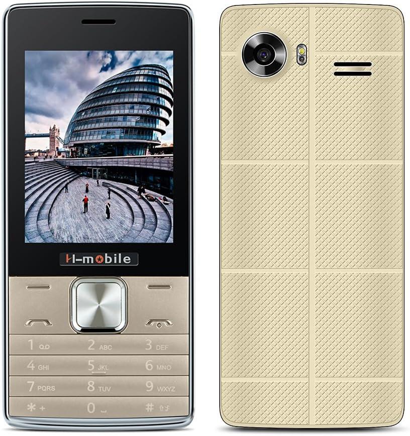 Kivors Smartphone Senior Teléfono Móvil T8 Dual SIM Mobile con ...