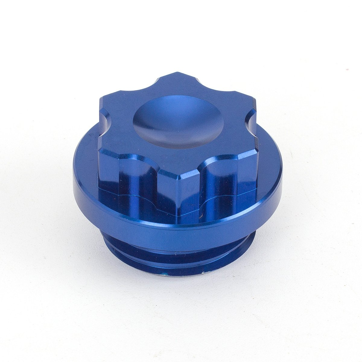 FXCNC Racing Motorcycle Anodized Filler Oil Caps fit for Yamaha YZF R1 1998-2003, 2007-2012 Aluminum Blue