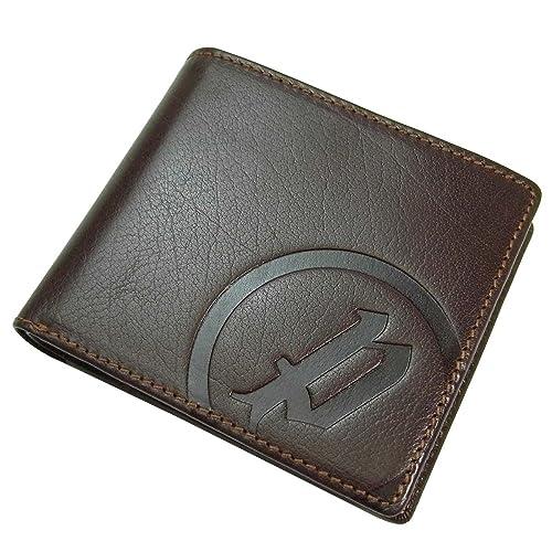 3b33e52347aa ポリス POLICE メンズ 二つ折り財布 小銭入れ付き 型押し レザー pa-5602-