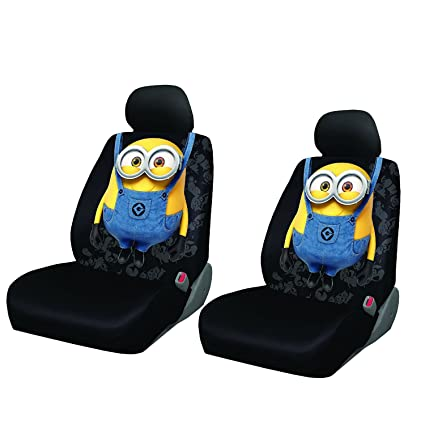 Despicable Me BOB Minions Seat Covers Pair