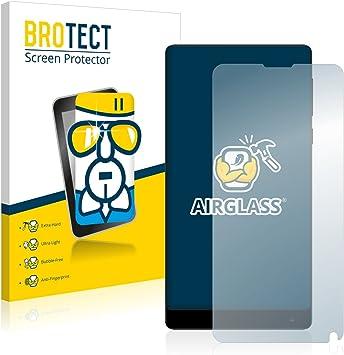 BROTECT Protector Pantalla Cristal Compatible con Xiaomi Mi Mix 2 ...