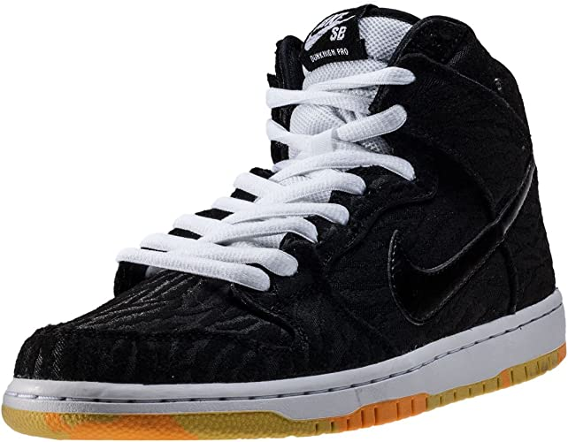 Nike 305050 034 Basketballschuhe, Herren, Schwarz (Black