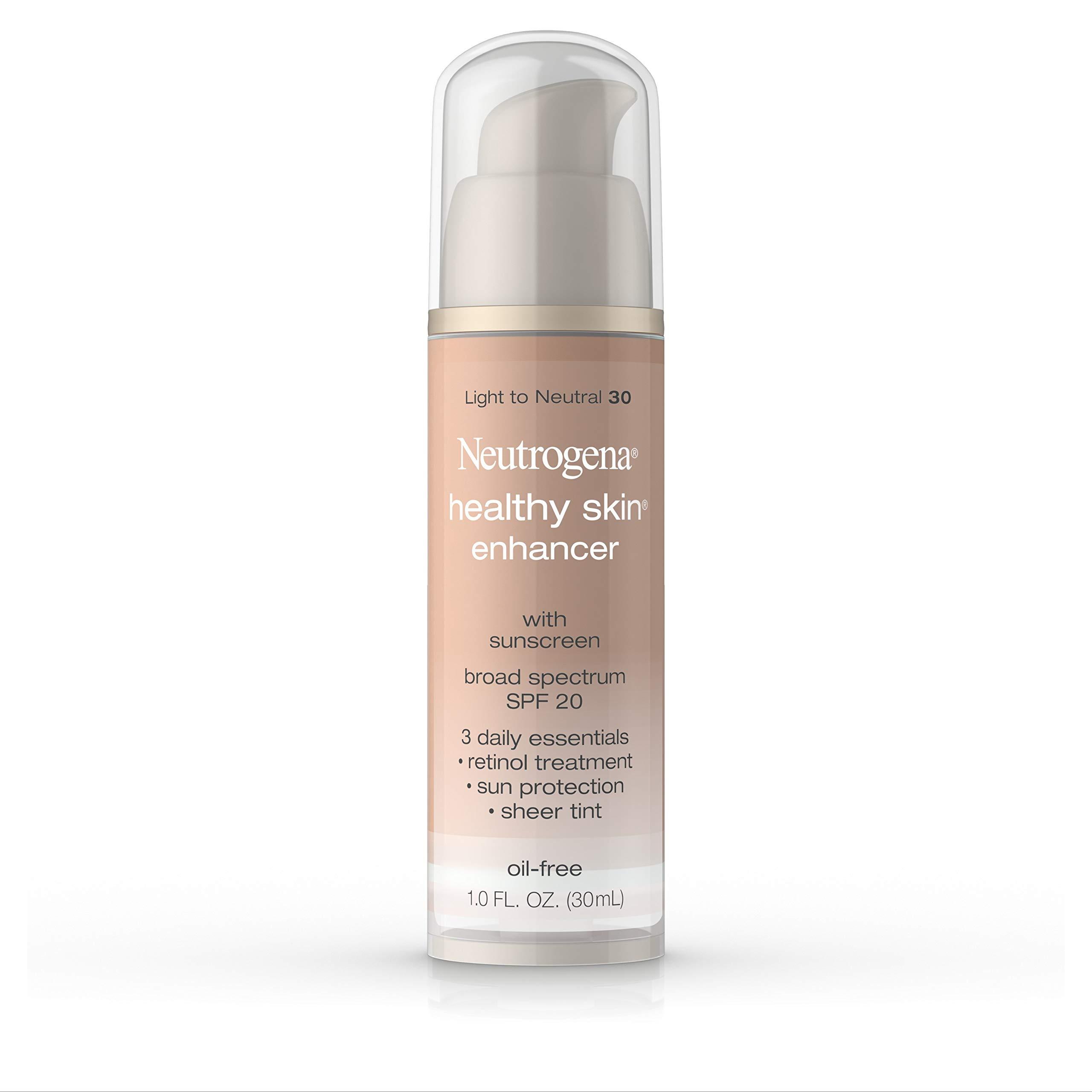 Neutrogena Healthy Skin Enhancer, Broad Spectrum Spf 20, Light To Neutral 30, 1 Oz. by Neutrogena