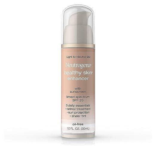 Neutrogena Healthy Skin Enhancer, Broad Spectrum Spf 20, Light To Neutral 30, 1 Oz. best tinted moisturizer